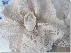 DIY lace rose