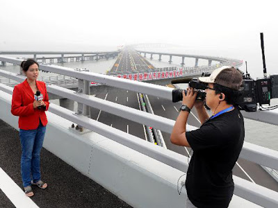Shandong+Highway jambatan+terpanjang+dunia billyinfo4 Jambatan Terpanjang Di Dunia Kini Di China