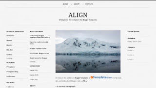 Align template