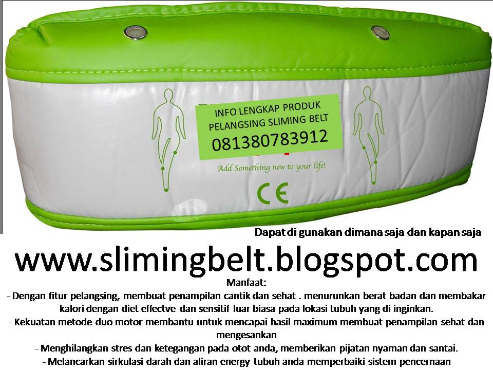 jual benice ozen izen blue idea body slimer sliming belt 081380783912