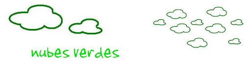 nubes verdes