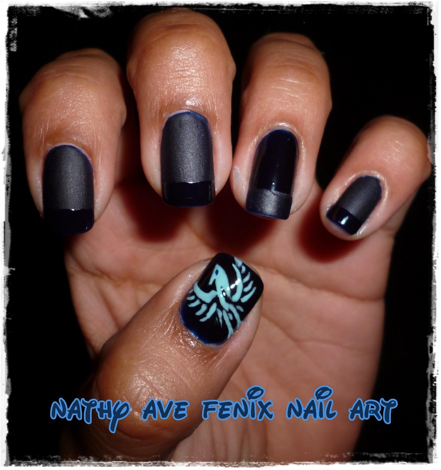 Nail Art Pik Avenue: NATHY AVE FENIX NAIL ART: DÍA 20 DEL RETO: VUESTRO BLOG