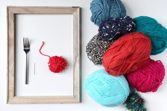 Things you'll need to make your own Diy Woven Wall Hanging