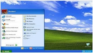 Halaman Desktop Windows XP