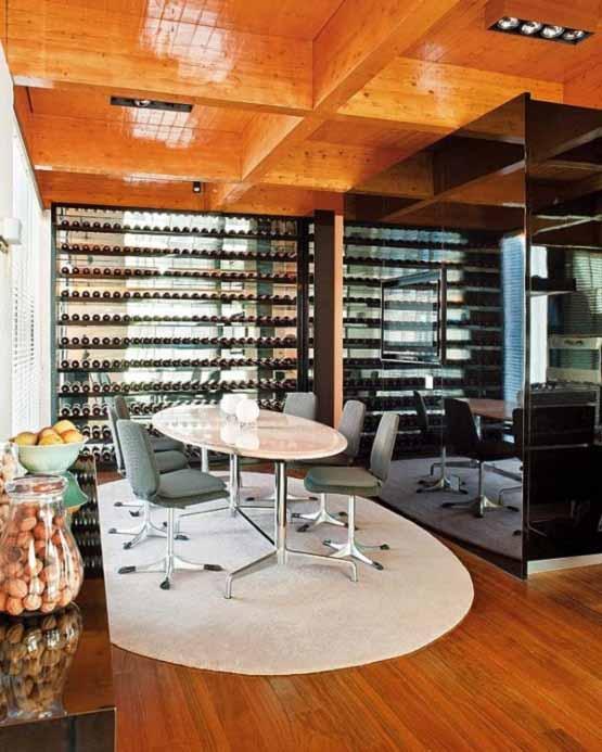 Rumah Modern di Portugal, ruang santai