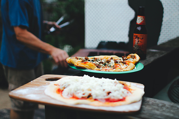 Grilled Pizza Recipe + Sitting In Our Tree