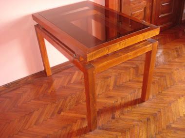 Angel Line Desk(Table)- Carved Angel Logo