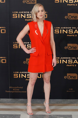 Jennifer Lawrence - The Hunger Games: Mockingjay 2 Madrid premiere