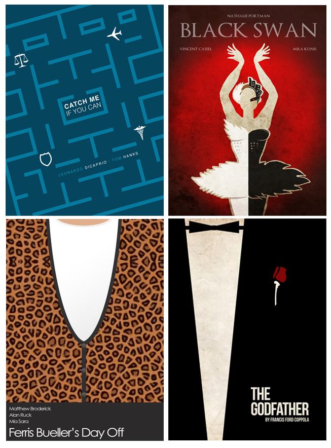 Excepcional Design e Moda: Cartazes Minimalistas DU91