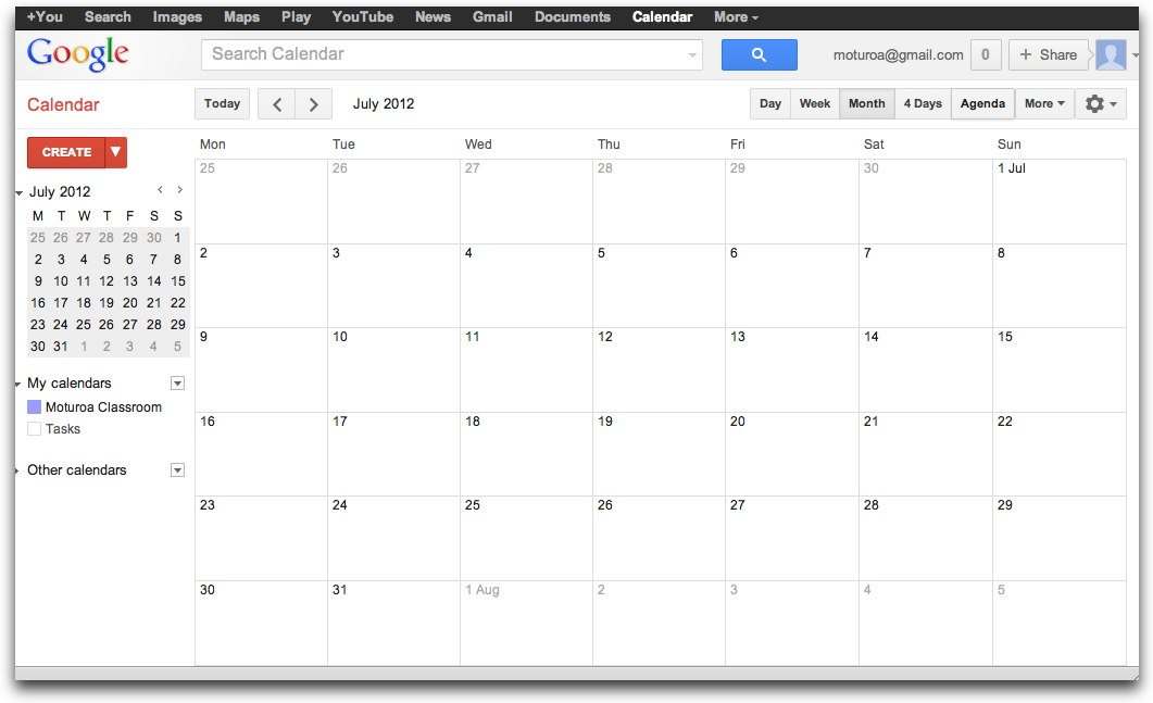 how to create alert in google calender
