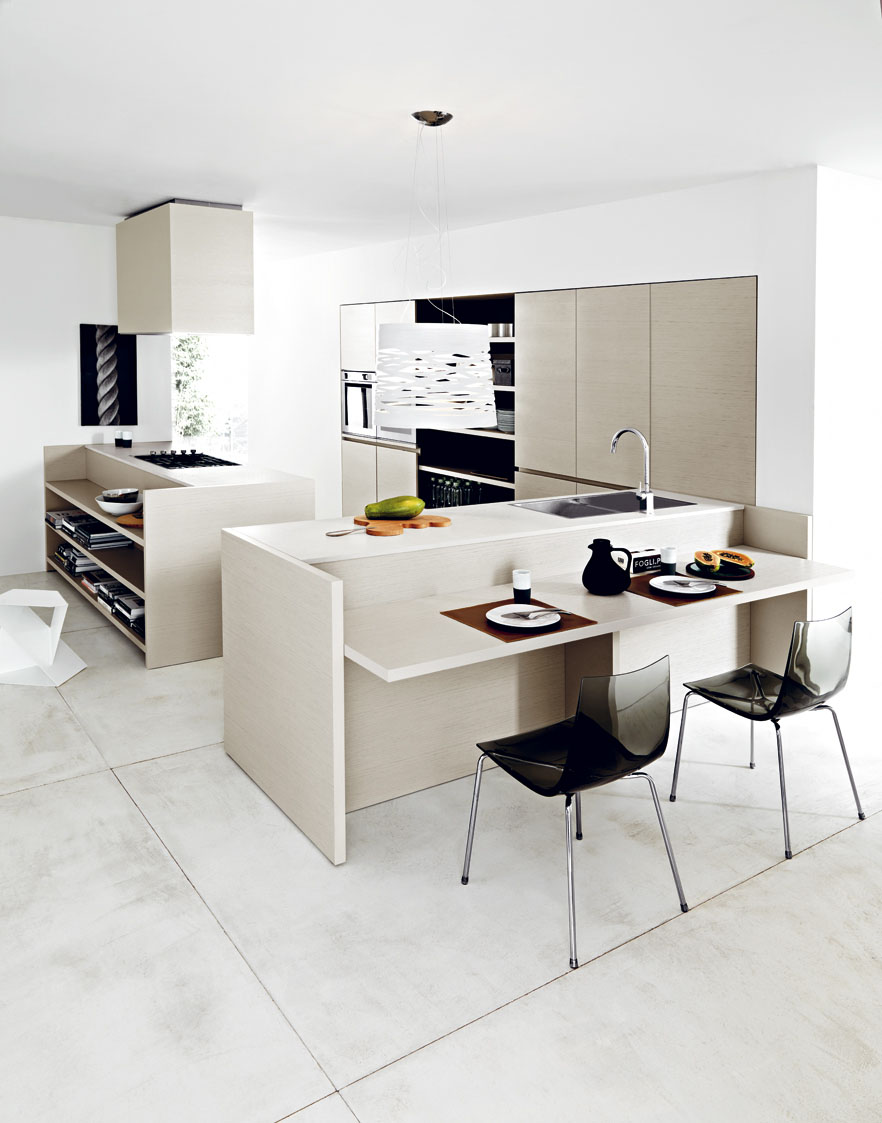 Italian Modern Kitchens at the AD Home Design Show Booth 476 - MCK+B
