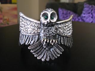 Steve Madden Owl Cuff