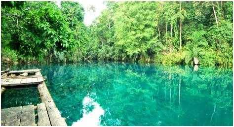 Gambar Tempat wisata eksotis dan mengangumkan di Kalimantan