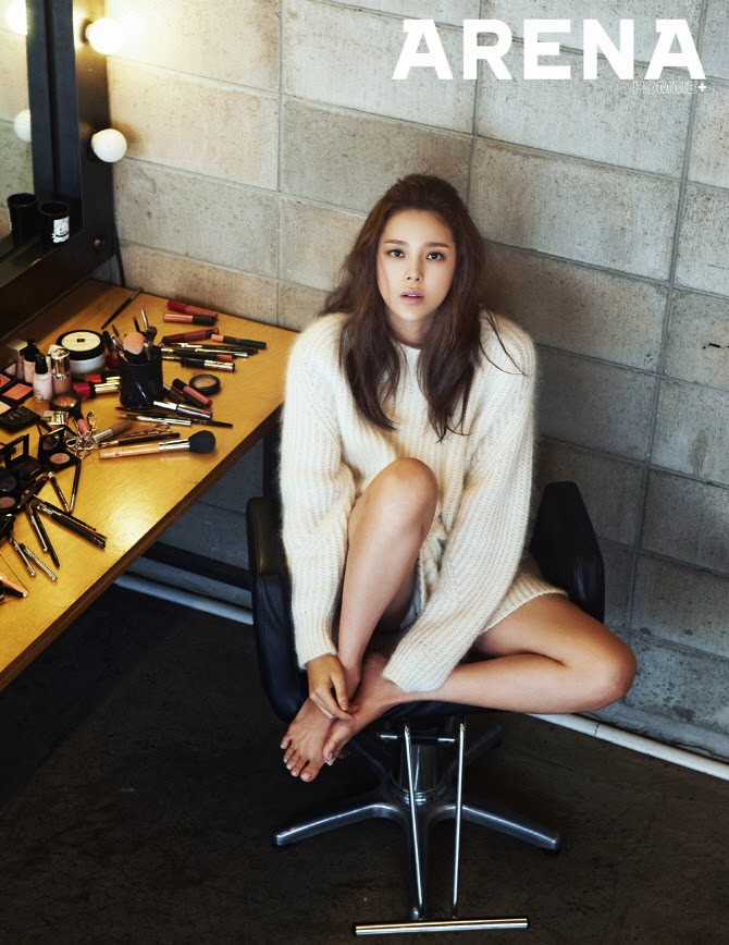 Park Si Yeon - Arena Homme Plus Magazine November Issue 2014
