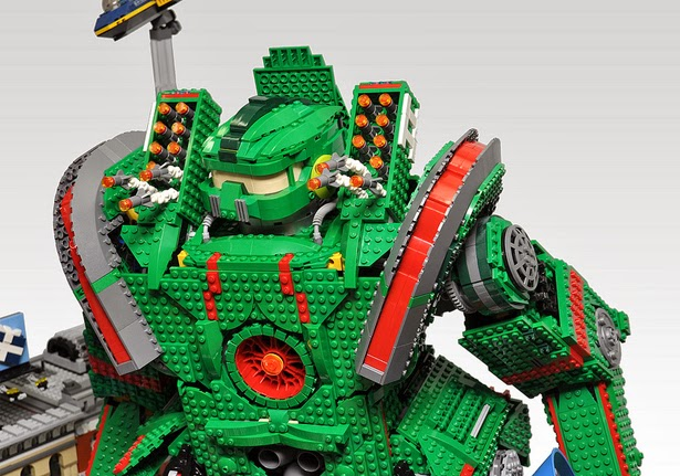 Lego Pacific Rim - Kaiju vs Jaeger