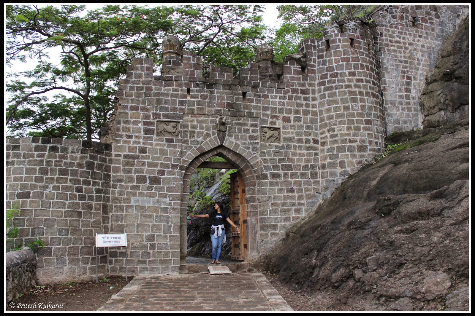 Ganesh Gate, Shivneri fort