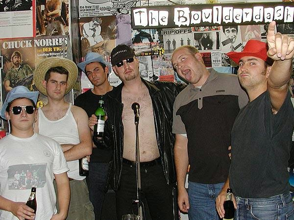 "Die Band ""The Boulderdashs"""