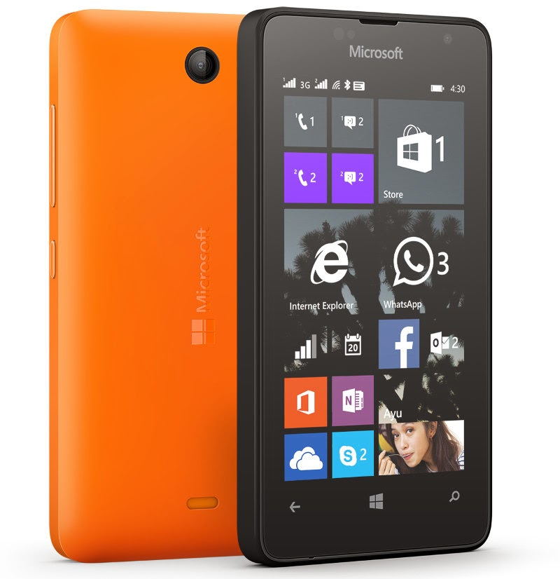 Microsoft's Cheapest Lumia Phone (Lumia 430) Price & Specification