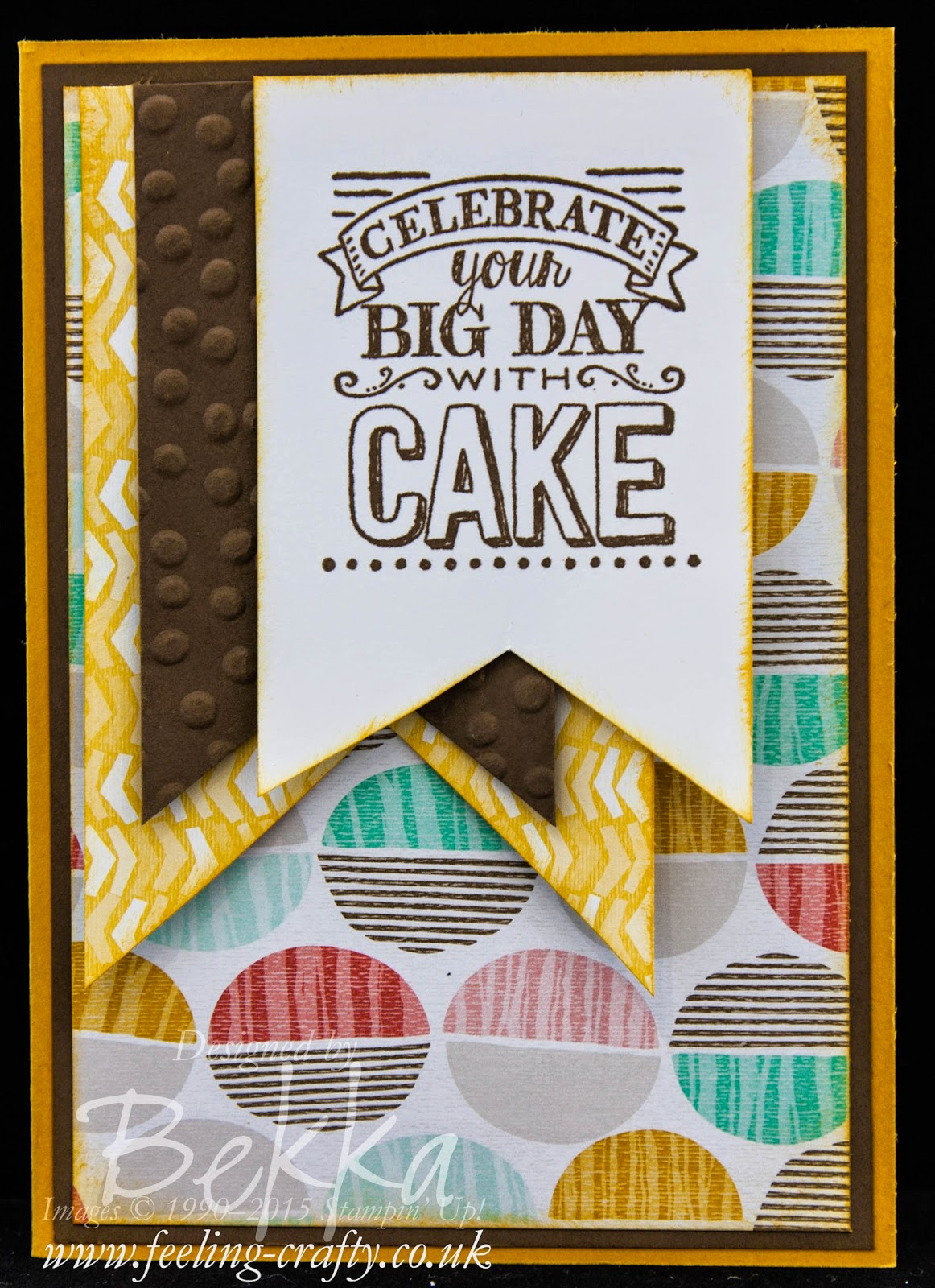 Big Day Birthday Card for a Boy featuring Sale-a-Bration Products - check it out here