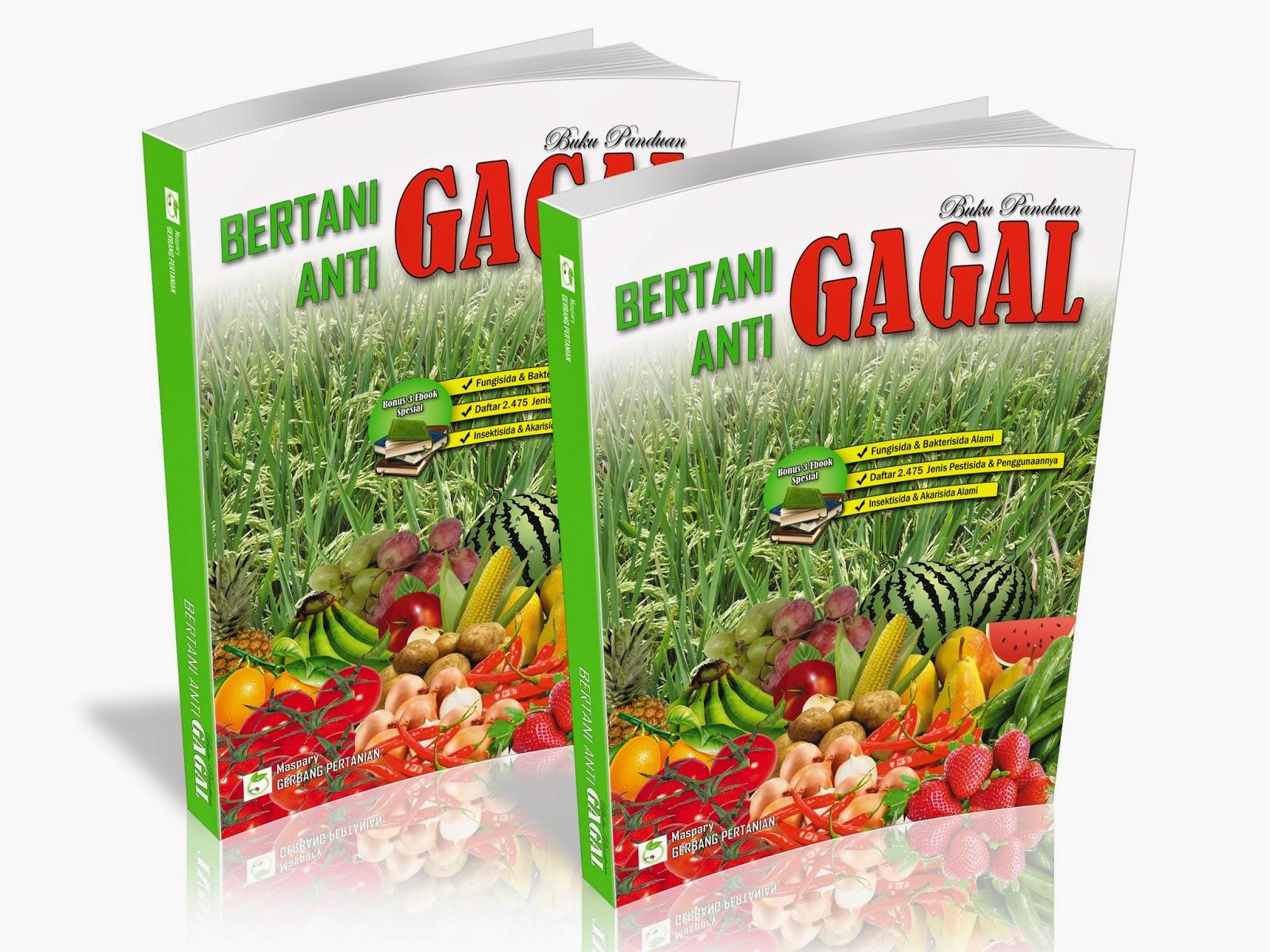 Buku Panduan Bertani Anti Gagal Gerbang Pertanian