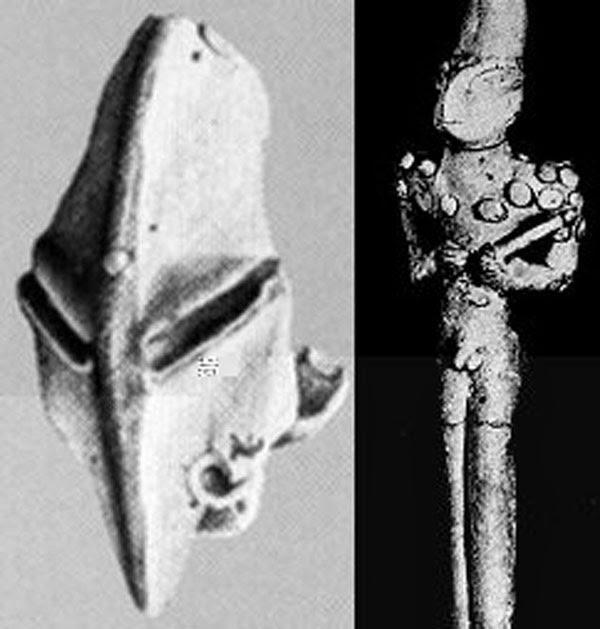 Patung Manusia Kadal Ubaid - Benda Misterius Yang Diduga Alien