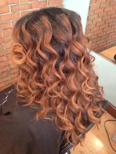 tress art custom curls. beach