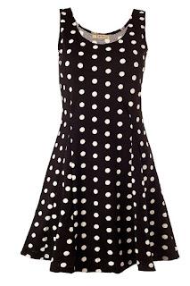 Sommer Kleid mit Punkte
