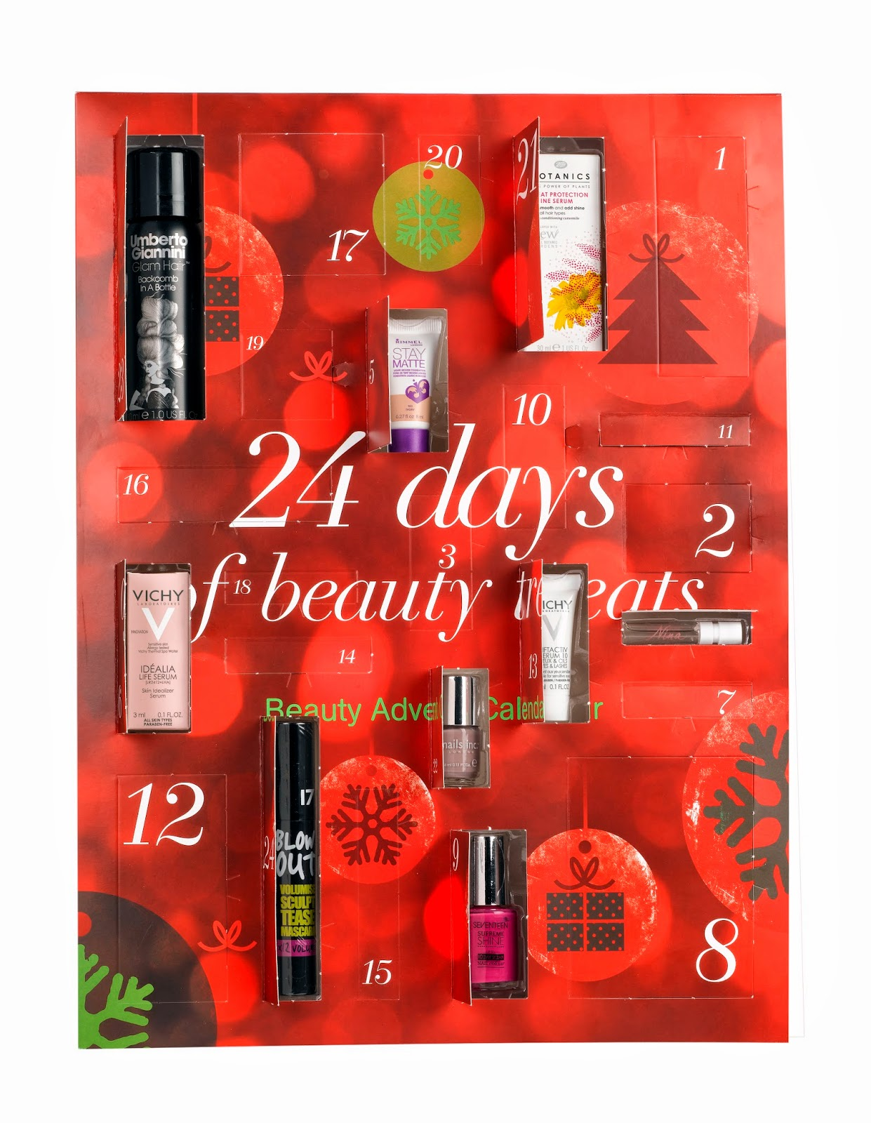 boots launches it 39 s first ever beauty advent calendar i. Black Bedroom Furniture Sets. Home Design Ideas