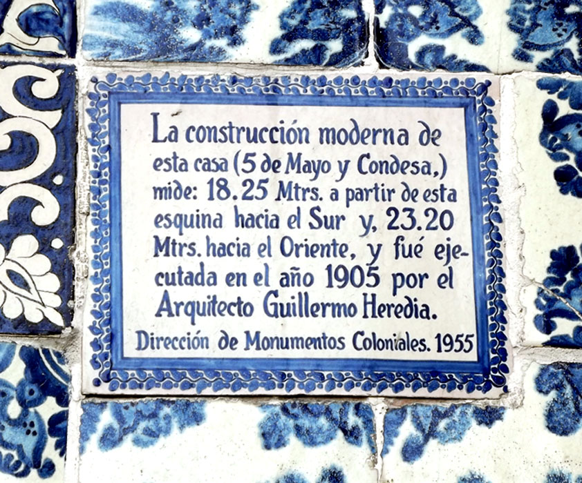 El m gico centro hist rico el samborns la casa de los for La casa de los azulejos leyenda