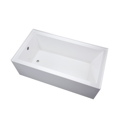 Exceptionnel This Is An Acrylic Tub, But I Like The Simple Lines And Shape Of It. Plus  It Has A Plain Skirt, Which Is Difficult To Find. Itu0027s Made By Mirabelle,  ...