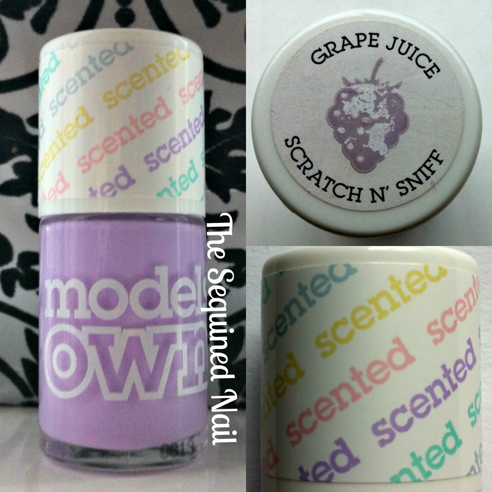 The Sequined Nail: Models Own Fruit Pastel Grape Juice Swatch