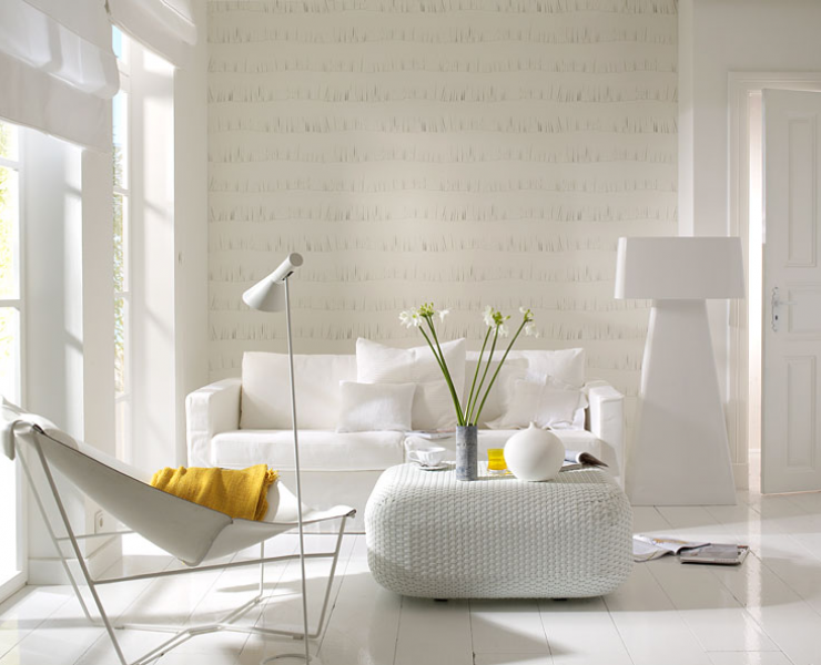 tapeten wohnzimmer beige rasch tapete fruehlingszauber gruen