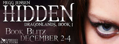 Book Blitz: Hidden (Dragonlands #1) by Megg Jensen