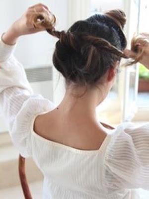 paso a paso peinados recogidos ondas sueltas
