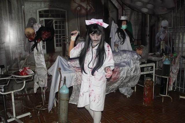 hantu suster memburu pengunjung rumah sakit