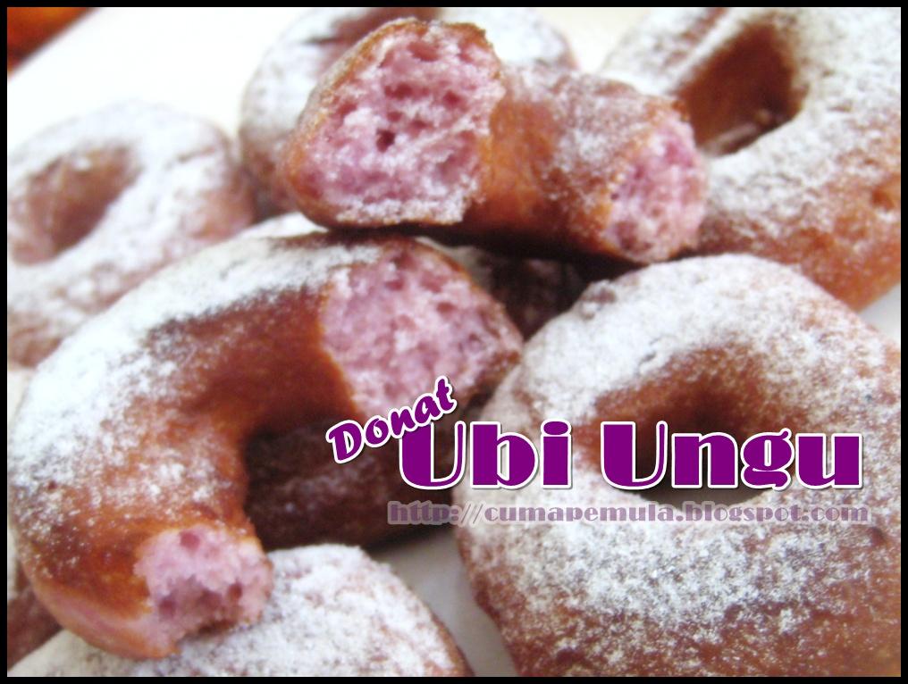 My Lovely Notes: Donat Ubi Ungu