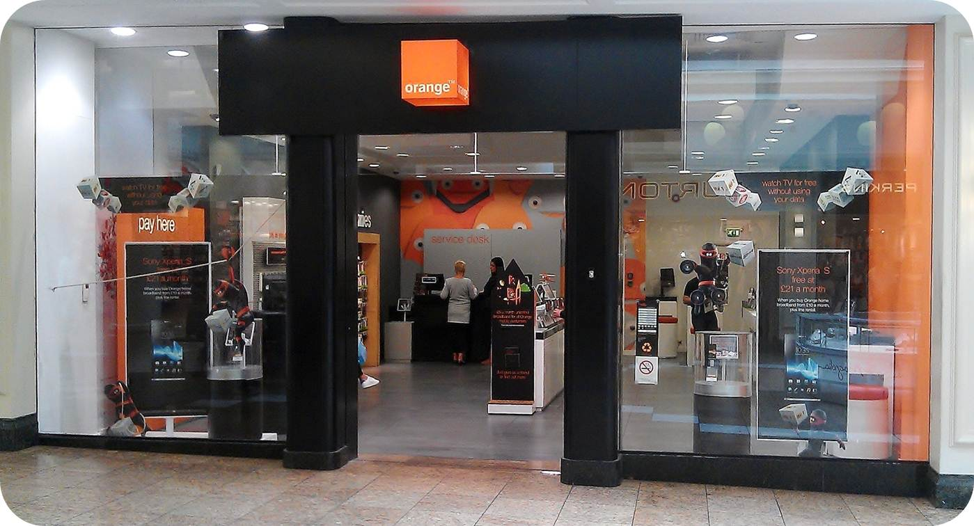 Ruck retail solutions everything everywhere get 4g - Boutique orange narbonne ...