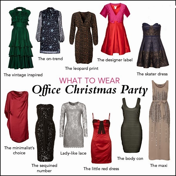 how to dress for an office christmas party