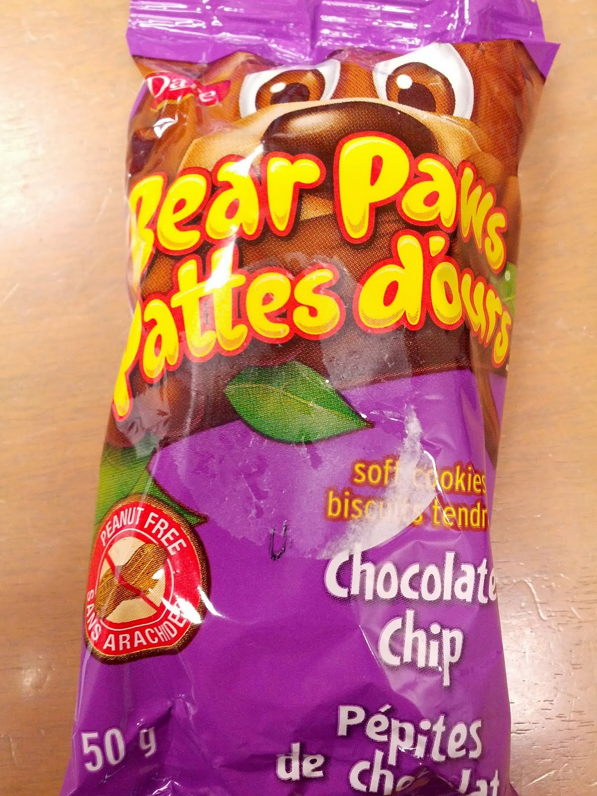 Vanbrosia dare chocolate chip bear paw for Jj fish and chips