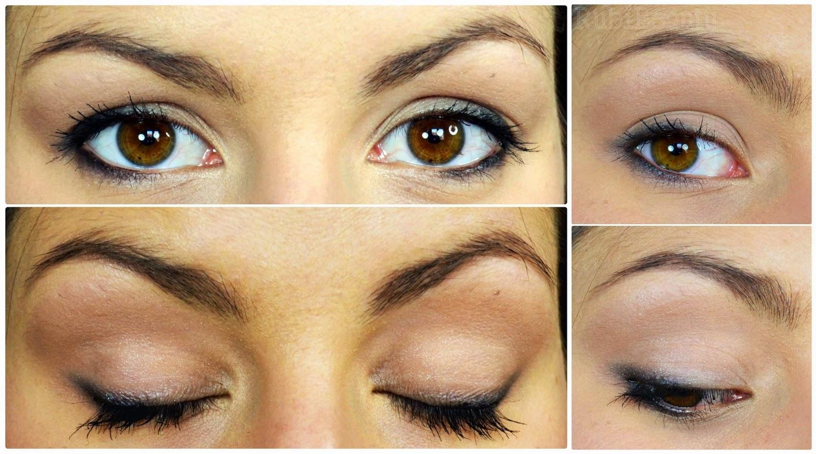 rubibeauty maquillaje emma watson ojos sencillo