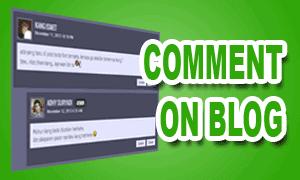 Komentar Pada Blog