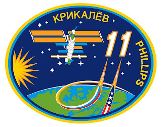 Expedition 11 Embroidered Patch Design