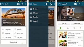 Graba y comparte videos en la red social Keek