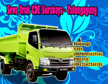 Sewa Truk CDE Surabaya - Tulungagung