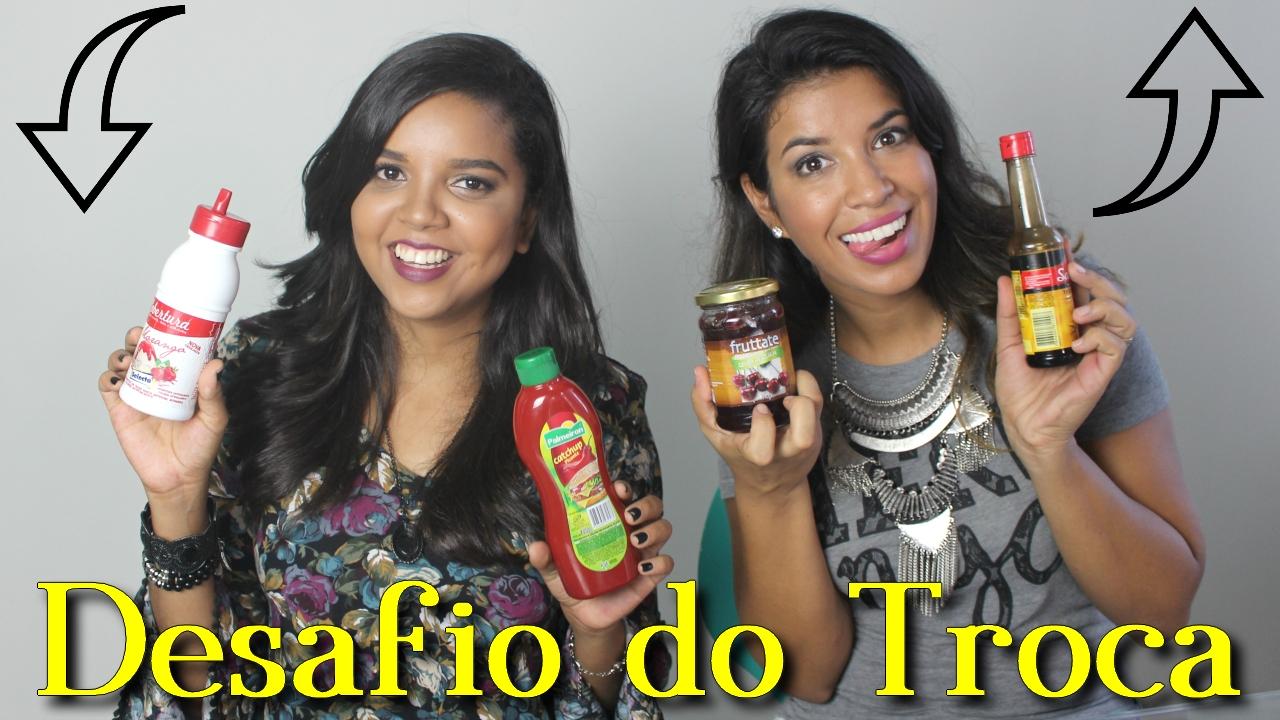 Desafio do Troca, Natália Sena, Curiosa Juh