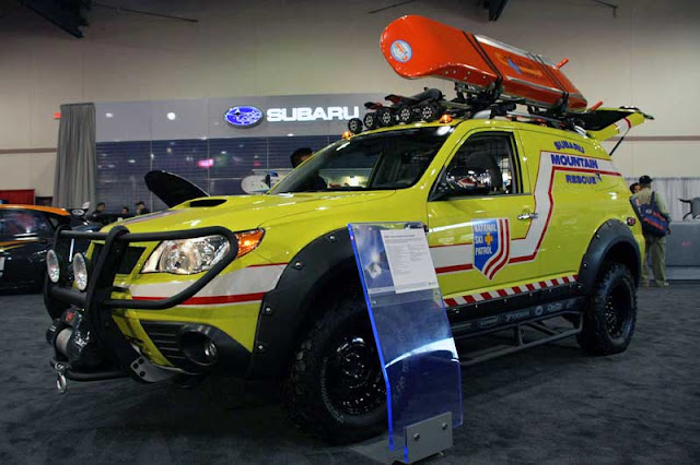 Subaru Forester Mountain Rescue Vehicle