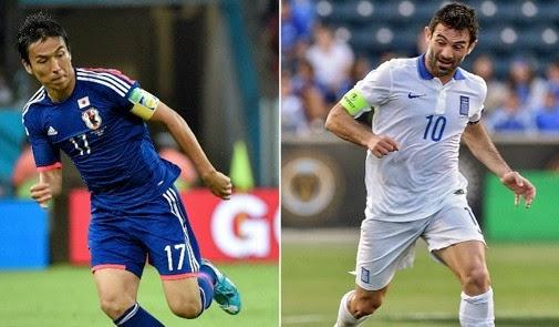 مشاهدة مباراة اليابان واليونان اليوم بث مباشر اونلاين مباريات كاس العالم 2014