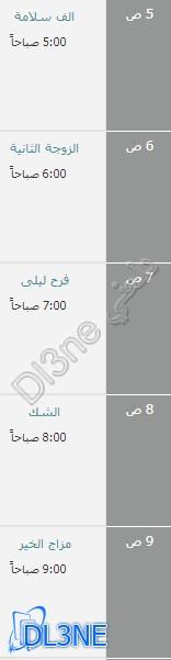 مواعيد عرض مسلسلات رمضان 2013 علي قناة النهار دراما