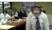 Nosotros que en verdad somos monos.... ¡Que no daríamos por haber sido creados a la imagen y semejanza de Dios!