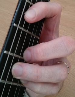 Cmaj7#11 guitar chord